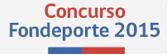 Concurso FONDEPORTE 2015